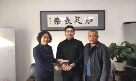 Chairman of the American Study Abroad Service center visits Jilin Province Federation of Returned Overseas Chinese